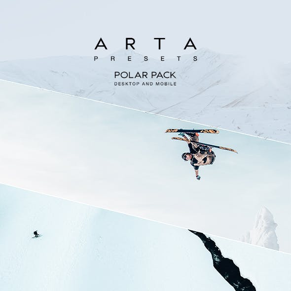 ARTA Preset Polar Pack For Mobile and Desktop Lightroom
