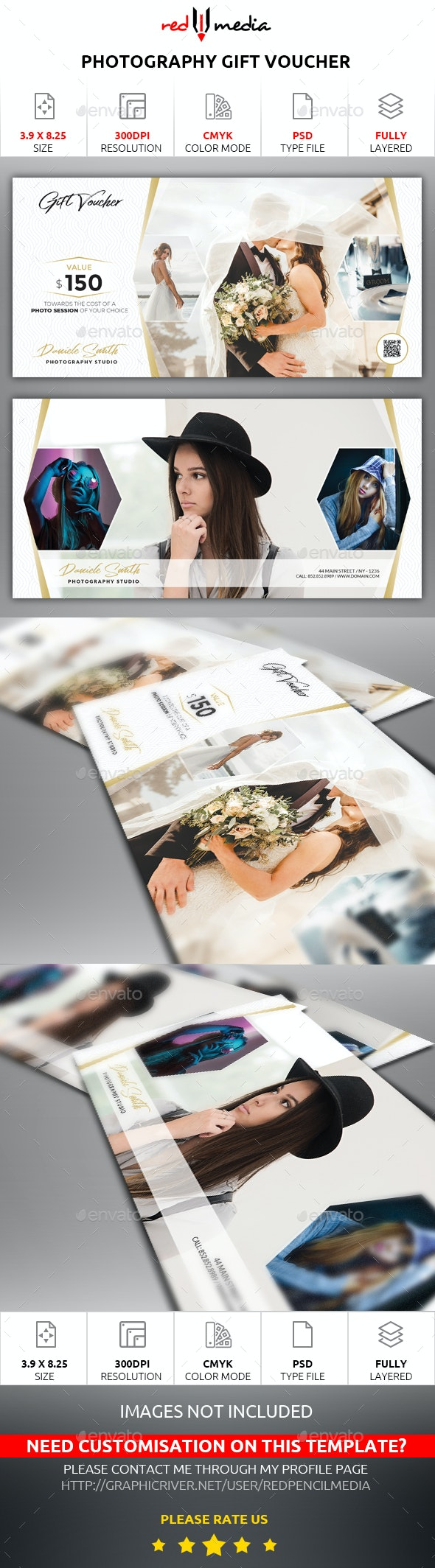 Photography Gift Voucher - Loyalty Cards Cards & Invites