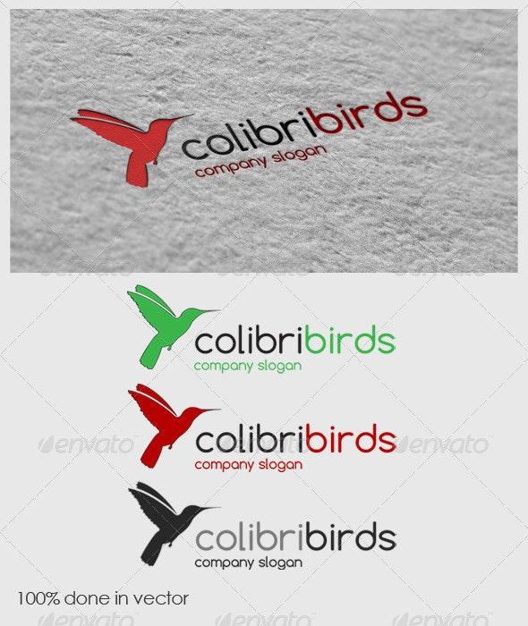 Colibri Logo - Animals Logo Templates