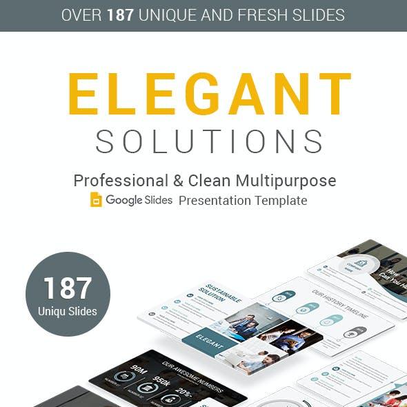 Elegant Business Google Slides Template