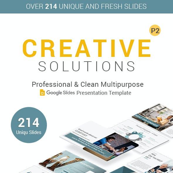Creative Business Google Slides Template V2