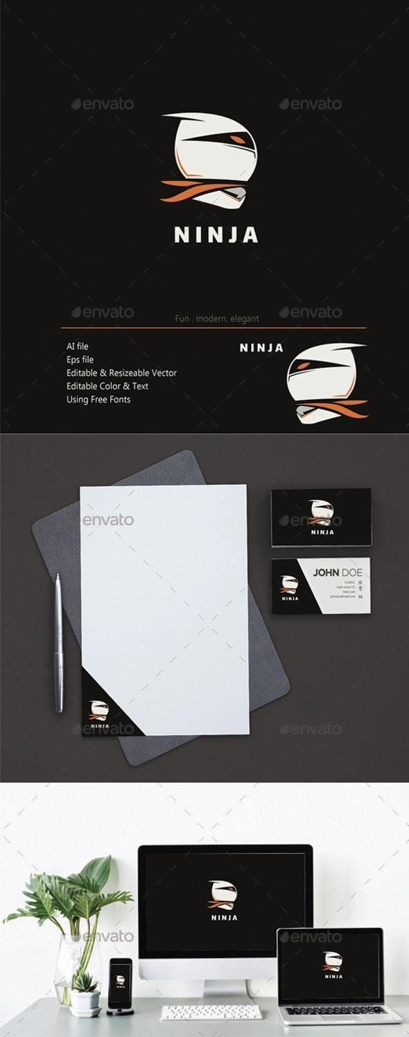 Ninja - Humans Logo Templates