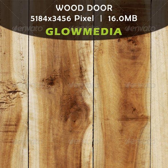 Wood Flaps Door
