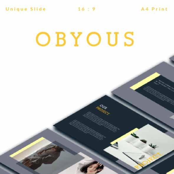 Obyous Presentation Template