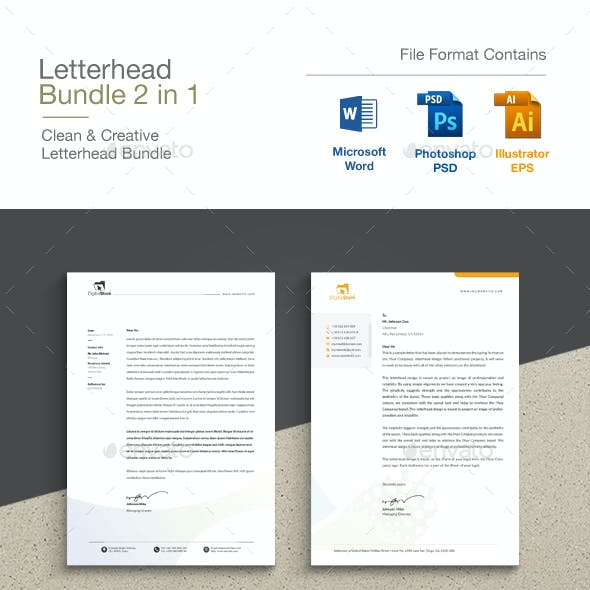 Word Letterhead Bundle
