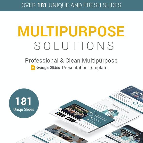 Modern Multipurpose Google Slides Presentation Template