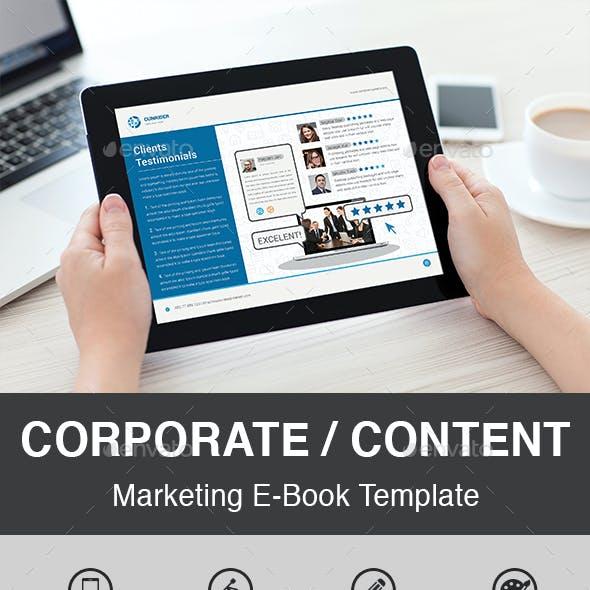 eBook Corporate / Content Marketing
