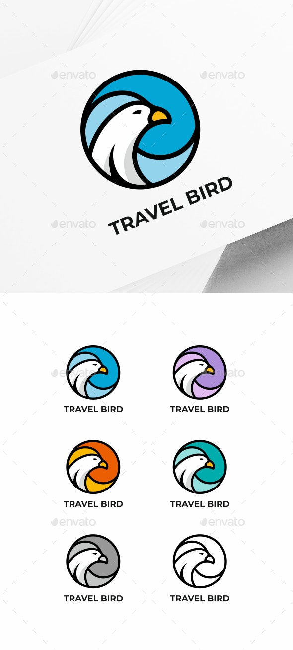 Gull Bird - Animals Logo Templates