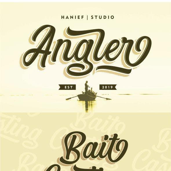 Angler - Script Font