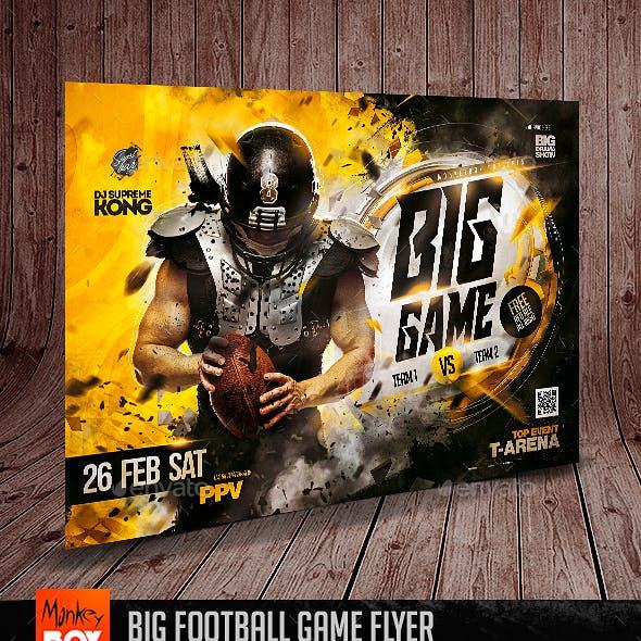 Big Football Game Flyer