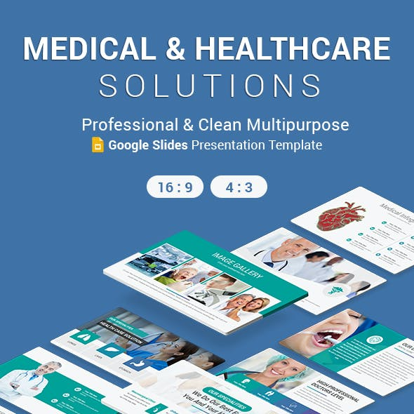 Medical and Healthcare Solutions Google Slides Template
