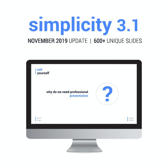 Simplicity 3.1 – Premium and Easy to Edit Template