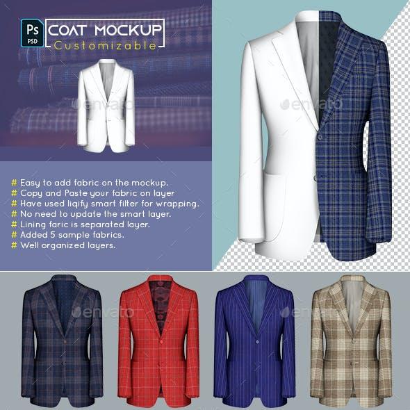 Custom Coat Mockup