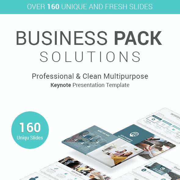 Business Pack Keynote Template
