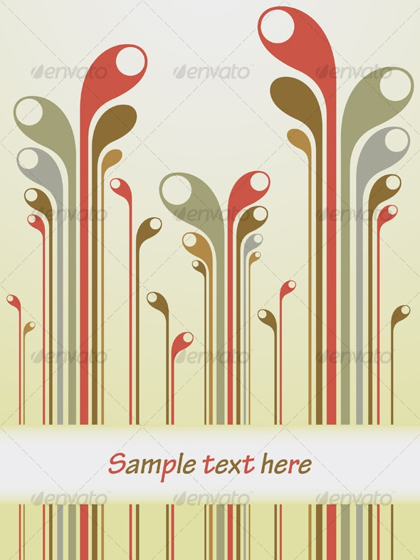 Vector abstract background - Abstract Conceptual