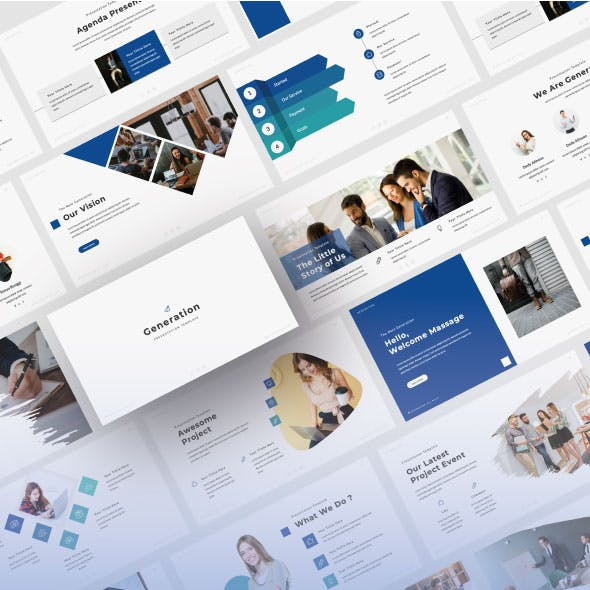 Generation PowerPoint Template