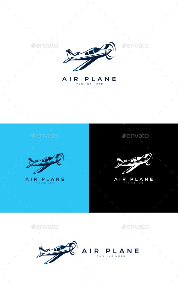 Air Plan Logo - Objects Logo Templates