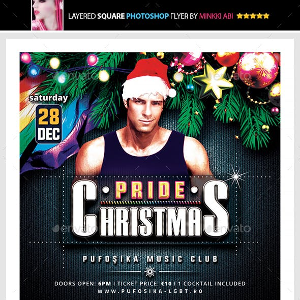 Pride Christmas Flyer