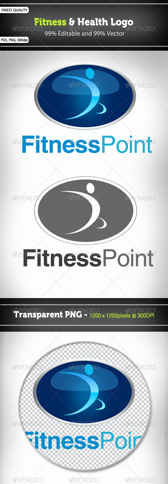 Fitness and Health Logo - Humans Logo Templates