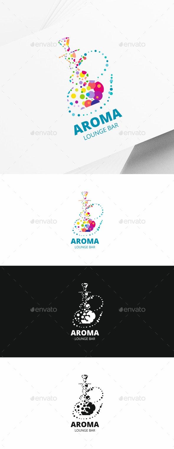 Shisha Bar Logo - Objects Logo Templates