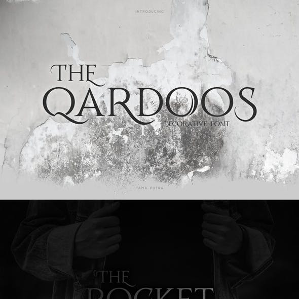 Qardoos Decorative Serif Typeface