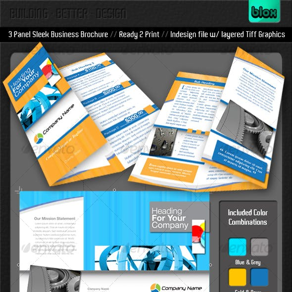 Sleek Business Brochure