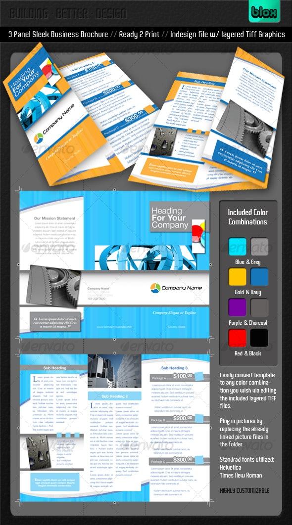 Sleek Business Brochure - Corporate Brochures