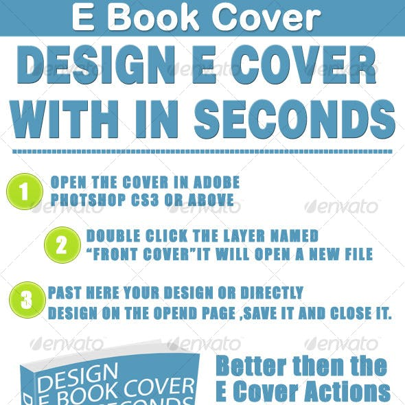 Design E Book Cover in Seconds