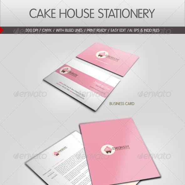 Cake House Corporate Identity