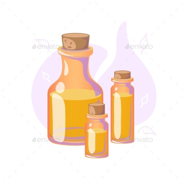Massage Oil for Beauty or Spa Salon