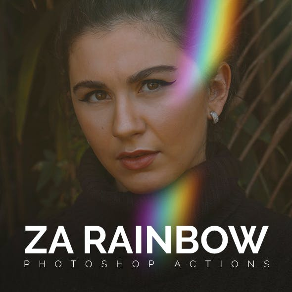 Ultimate Rainbow Photoshop Actions