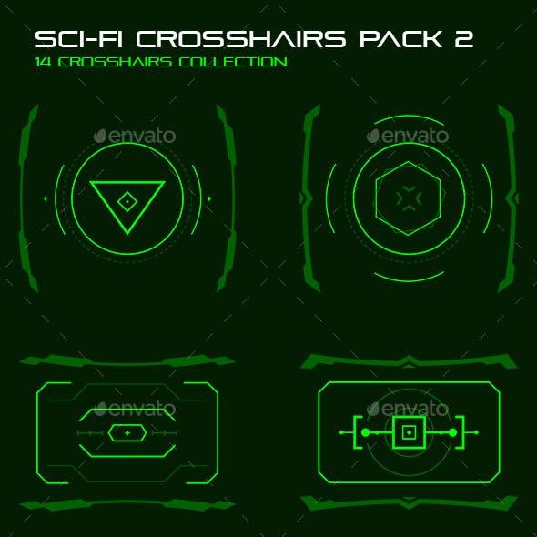 Sci-Fi Crosshairs Pack 2