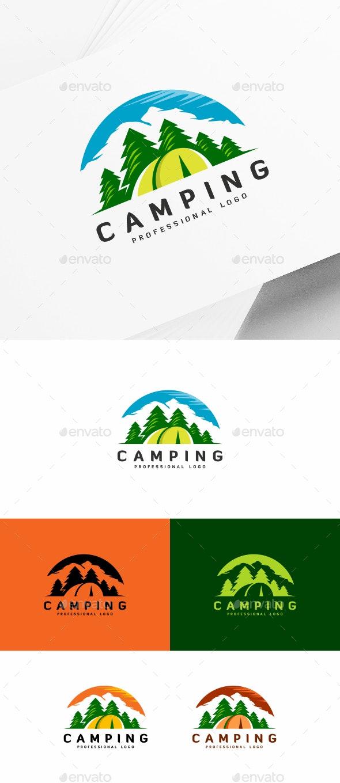 Camping - Nature Logo Templates