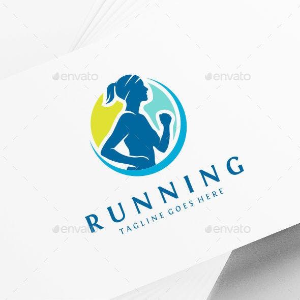 Fitness Running Logo