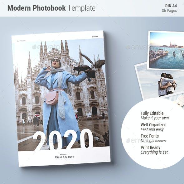 Photobook Template | Blue Skies