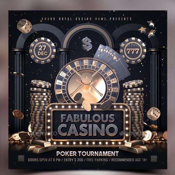 Golden Casino Template
