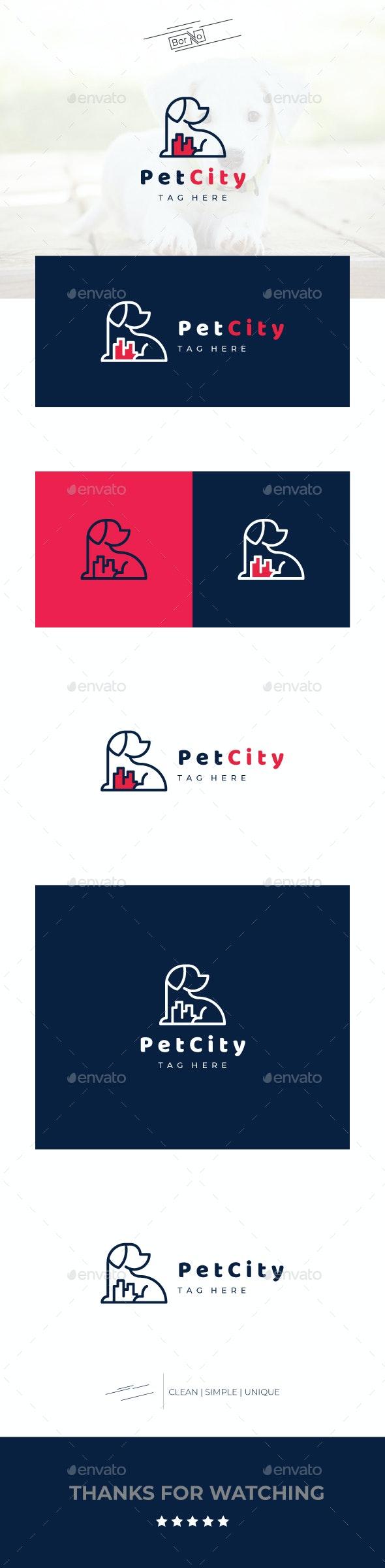 PetCity - Animals Logo Templates