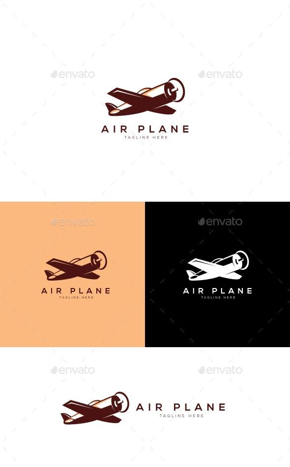 Air Plan Logo - Objects Logo Templates
