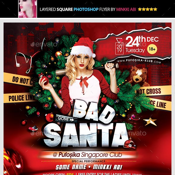 Bad Santa Flyer