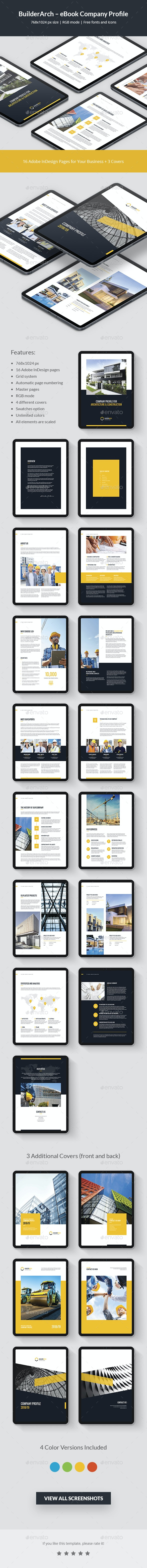 BuilderArch – eBook Company Profile - Digital Books ePublishing