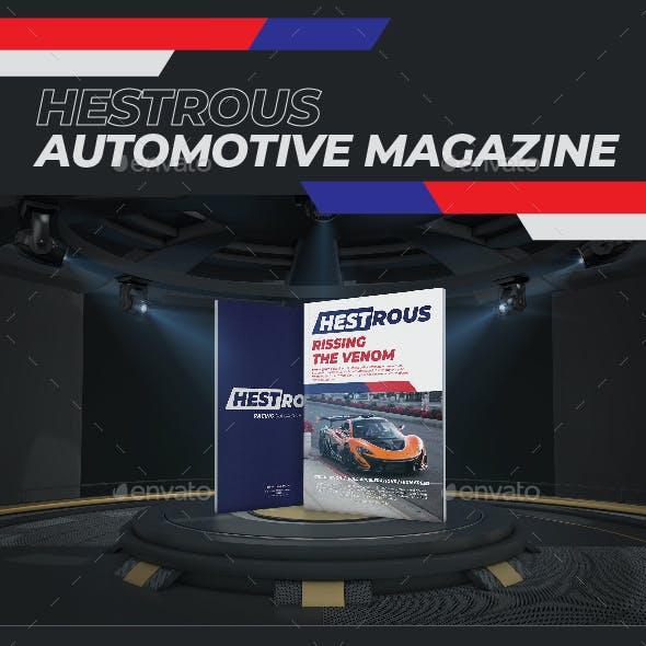 Hestrous Automotive Magazine Template
