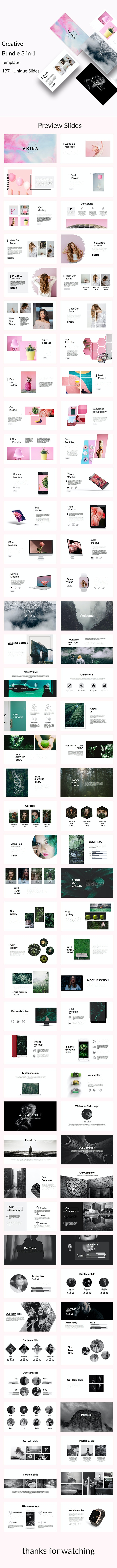 3 in 1 Dec - Creative Powerpoint Template - Creative PowerPoint Templates