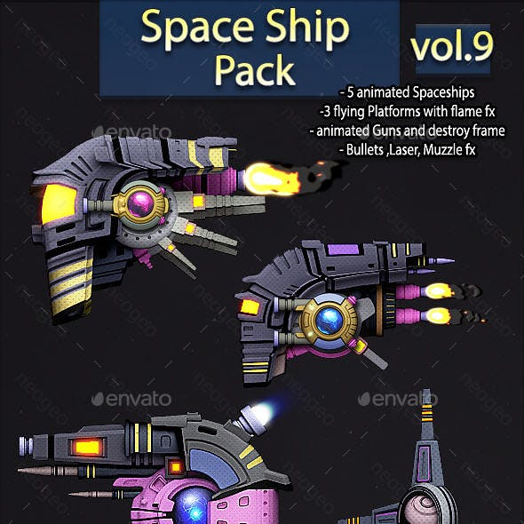 Space Ship Pack Vol.9