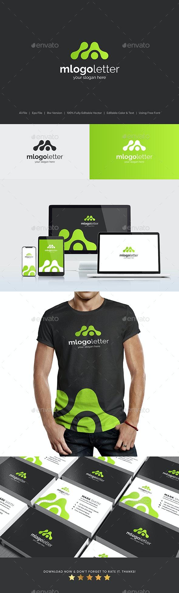LETTER M LOGO / WORDMARK - Letters Logo Templates