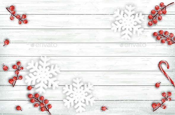 Abstract Holiday Christmas Background - Backgrounds Business