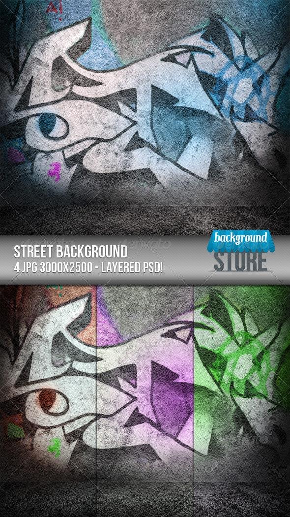Street Background - Urban Backgrounds