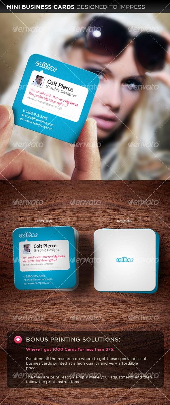 A Business Card Designed to Impress - Creative Business Cards