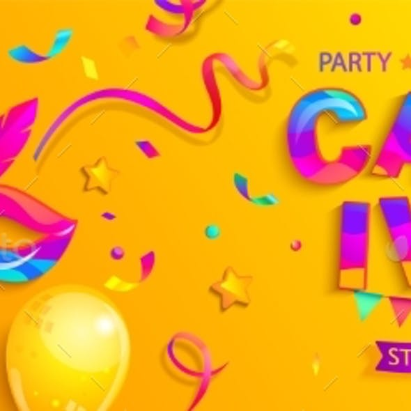 Banner for Carnival Party