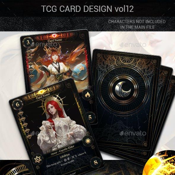 TCG Card Design Vol 12