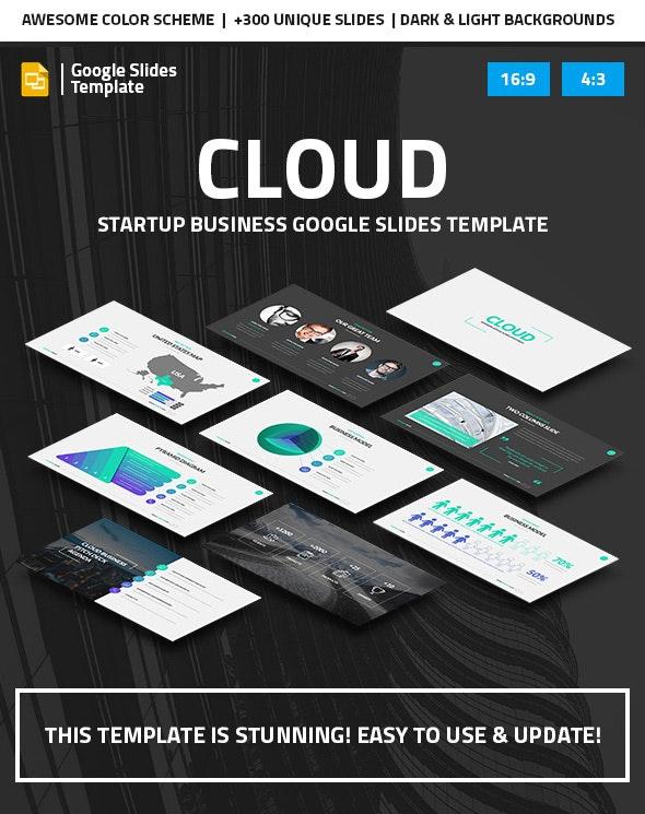Cloud - Startup Business Google Slides Pitch Deck - Google Slides Presentation Templates